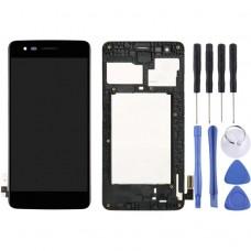 LCD Дисплей и Тъч Скрийн с Рамка за LG K8 2017 Aristo/ M210/ MS210/ M200N/ US215