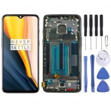 LCD Дисплей и Тъч Скрийн с Рамка за OnePlus 7