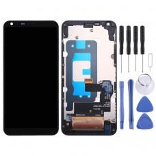 LCD Дисплей и Тъч Скрийн с Рамка за LG Q6 /Q6+ /LG-M700/ M700/ M700A/ US700/ M700H/ M703/ M700Y