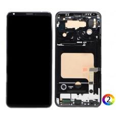 LCD Дисплей и Тъч Скрийн с Рамка за LG V30