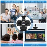 Full HD 1080P Web Camera With Noise Cancellation Microphone Уеб Камер