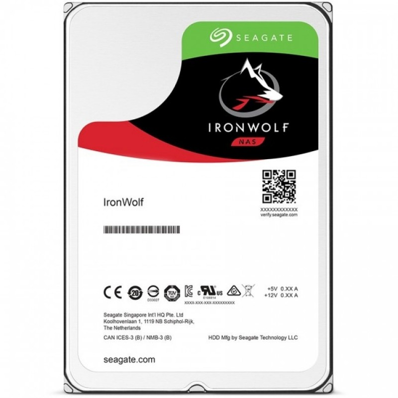 "Seagate IronWolf 3TB, 3.5"" Твърд диск"