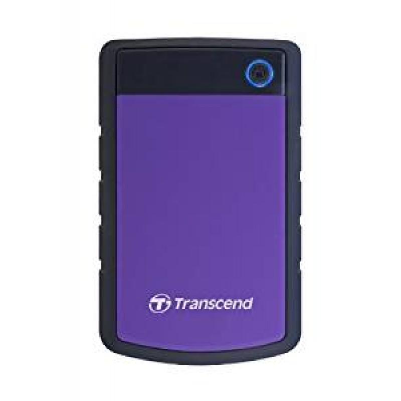 """Transcend StoreJet H3P 2.5"""" USB 3.0 portable Purple Външен HDD 4TB"""