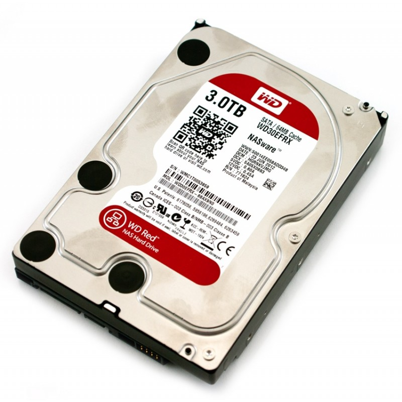 "Western Digital 3TB, 3.5"" Red  Твърд диск"