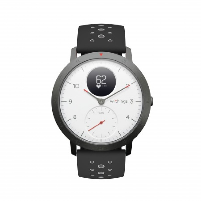 Withings Steel HR Sport (40mm), White Смарт Фитнес Гривна Часовник