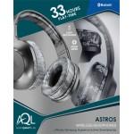 AQL Astros черни Bluetooth Стерео слушалки