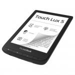 PocketBook Touch Lux 5, SMARTlight, E Ink Carta, Ink Black eBook Четец