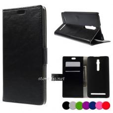 Asus Zenfone 2 ZE550ML ZE551ML Magnetic Wallet Кожен Калъф и Про
