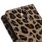 Alcatel Idol 2 Mini Леопард Кожен Калъф и Протектор