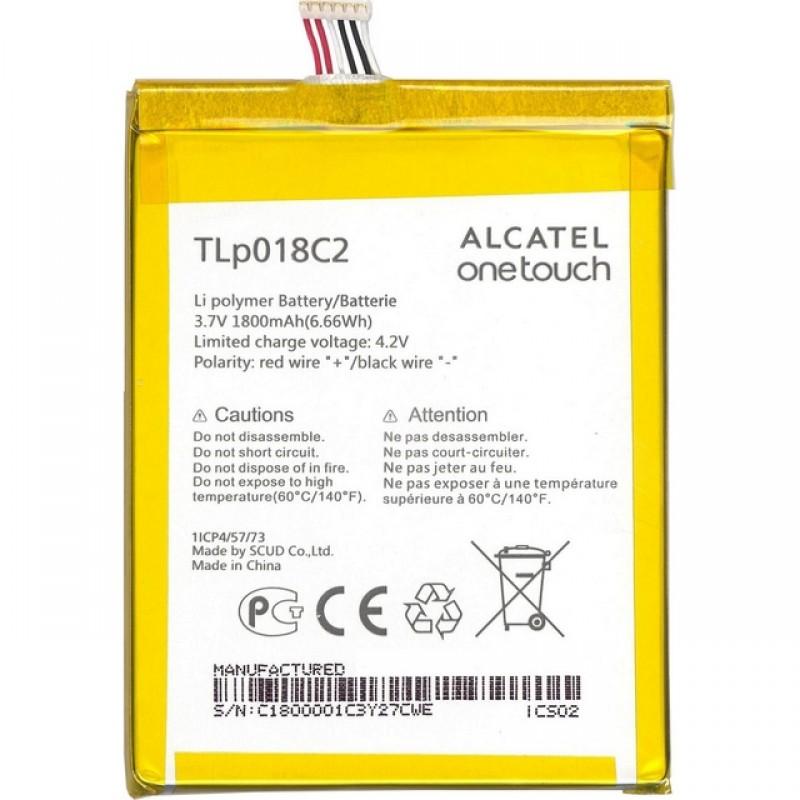 Alcatel TLp018C2 Оригинална Батерия 1800mAh