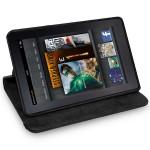 Amazon Kindle Fire Кожен Калъф + Протектор