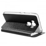 Asus Zenfone 3 Max ZC553KL Window Кожен Калъф 2 и Протектор