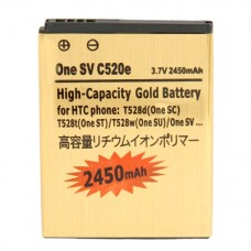 HTC BA S890, BM60100 2450mAh Батерия за HTC Desire 500, One SV