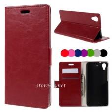HTC Desire 626, 626G Dual Sim Magnetic Wallet Калъф и Протектор