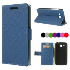 Huawei Ascend Y600 Magnetic Wallet Кожен Калъф + Стилус