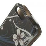 Huawei Ascend G6 Beautiful Flowers Флип Калъф + Протектор