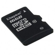 Kingston microSDHC Class 10 16GB Карта Памет