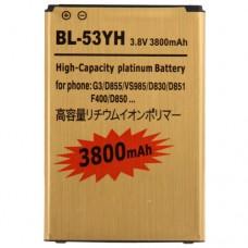 LG BL-53YH Усилена Батерия 3800mAh за LG G3