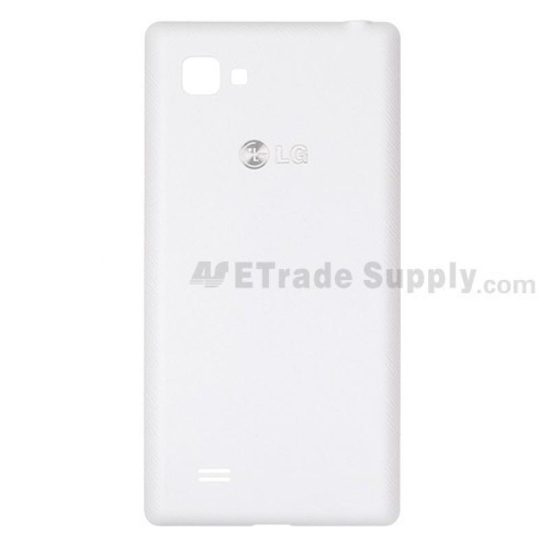 Оригинален Заден Капак Бял за LG Optimus 4X HD P880