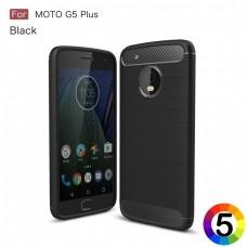 Motorola Moto G5 Plus Удароустойчив CF Калъф и Протектор