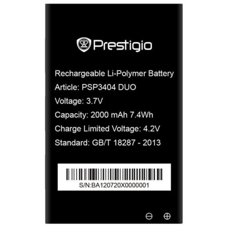 Prestigio PSP3404 DUO Батерия за Prestigio MultiPhone PSP3404 DU
