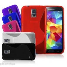Samsung Galaxy S5 Силиконов Калъф + Скрийн Протектор