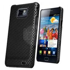 Samsung Galaxy S2 Твърд Калъф Черен + Протектор