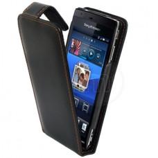 Sony Ericsson Xperia Arc S Flip Калъф + Протектор