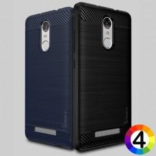 Xiaomi Redmi Note 3 Удароустойчив Carbon Fiber Калъф и Протектор
